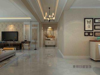 140平米三室两厅美式风格玄关图