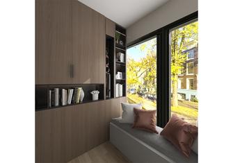 60平米一室一厅现代简约风格阳台欣赏图