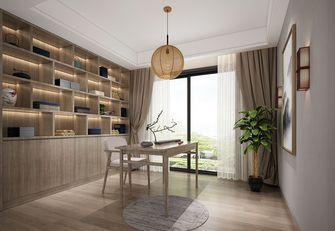 100平米三室两厅田园风格书房装修效果图