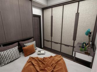 90平米四室一厅中式风格卧室装修图片大全