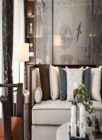 120平米四室一厅中式风格客厅设计图