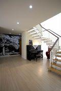 20万以上140平米四室两厅混搭风格楼梯装修效果图