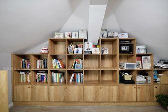 15-20万140平米复式北欧风格书房装修案例