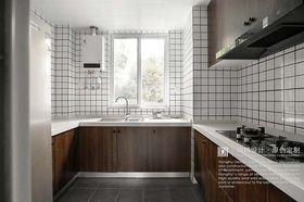 140平米三室兩廳北歐風格廚房效果圖