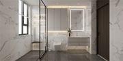 130平米三室两厅新古典风格卫生间装修效果图