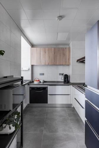 110平米三室两厅日式风格厨房图片大全