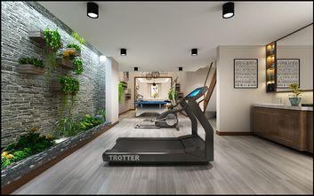 140平米三室两厅北欧风格健身室效果图