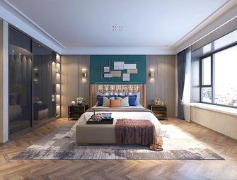 140平米别墅现代简约风格卧室欣赏图
