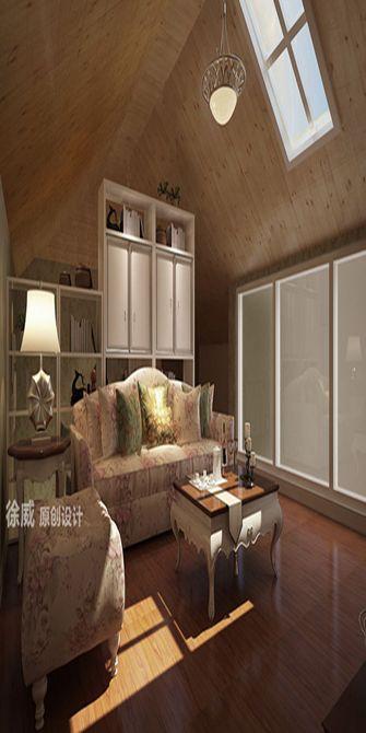 富裕型140平米复式田园风格阁楼欣赏图