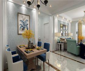 120平米三室兩廳歐式風格餐廳圖