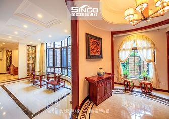 140平米别墅中式风格走廊飘窗装修图片大全