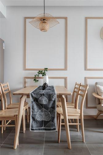 80平米日式风格餐厅图