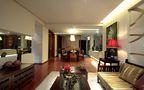 5-10万140平米三室三厅东南亚风格餐厅图片