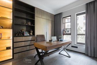 140平米四室两厅现代简约风格书房设计图