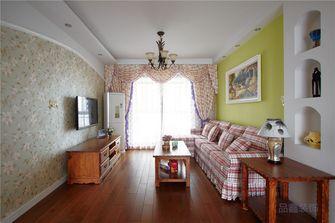富裕型140平米四室一厅田园风格客厅图