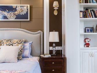 130平米三室两厅混搭风格卧室图