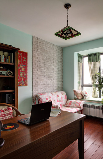 100平米地中海风格书房装修案例