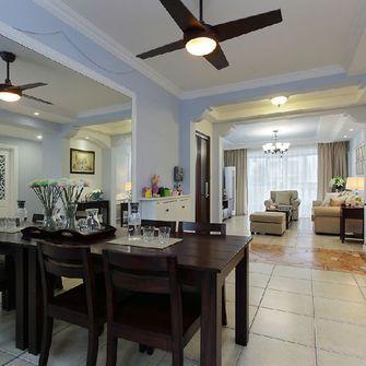 120平米三室一厅东南亚风格餐厅图片
