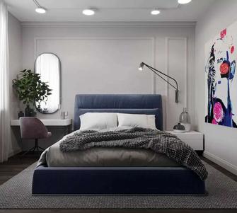 60平米一居室新古典风格卧室装修图片大全