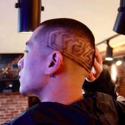 头发雕刻作品图