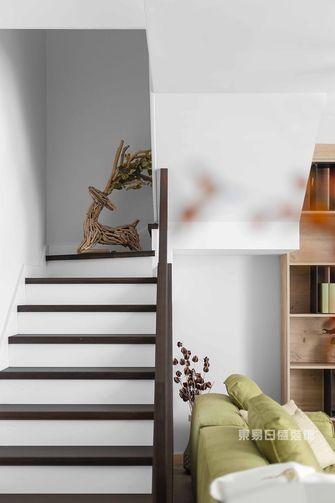 120平米复式日式风格楼梯间图