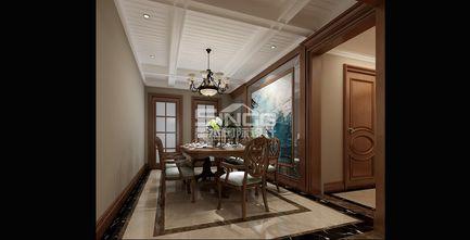 豪华型140平米四室四厅欧式风格餐厅图片