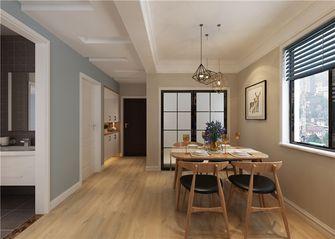 富裕型90平米三室两厅北欧风格餐厅装修案例