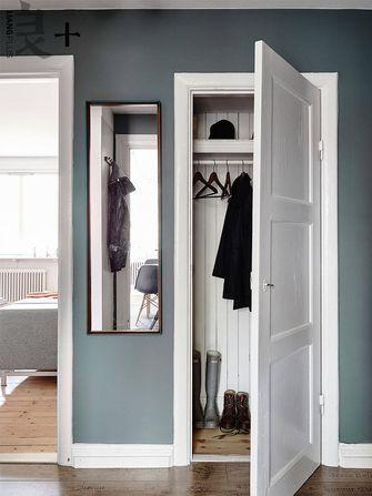 5-10万60平米公寓北欧风格衣帽间鞋柜欣赏图