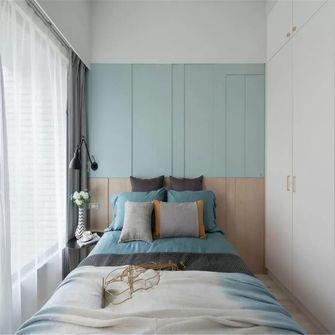 110平米三室两厅北欧风格卧室图
