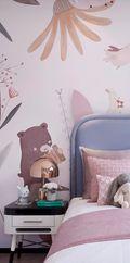 140平米别墅中式风格儿童房装修案例