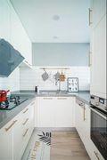60平米一室一厅北欧风格厨房图片