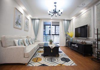 110平米三室两厅美式风格客厅设计图