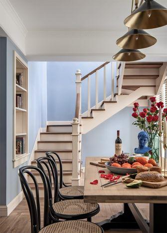 140平米四美式风格楼梯间欣赏图