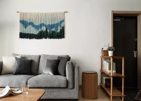 120平米三北歐風格客廳圖片