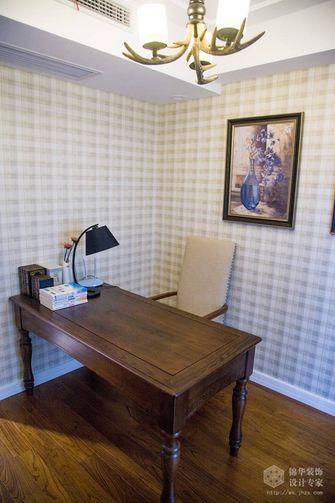 10-15万140平米三室两厅美式风格书房效果图