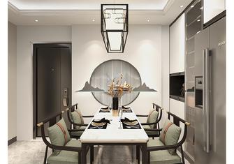80平米三室一厅中式风格餐厅装修效果图