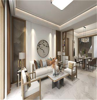 130平米三室两厅中式风格客厅图片大全