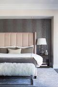 140平米一居室混搭风格卧室装修效果图