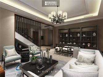 140平米别墅中式风格客厅设计图