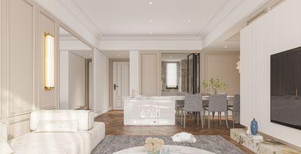 140平米四室一厅欧式风格餐厅图片大全