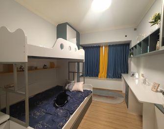 5-10万130平米三室两厅现代简约风格儿童房图