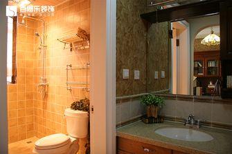20万以上140平米四室三厅田园风格卫生间装修图片大全