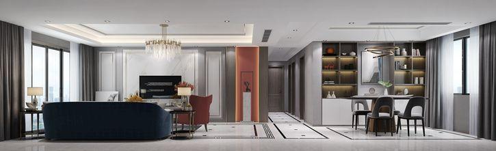 140平米四室五厅现代简约风格走廊装修效果图