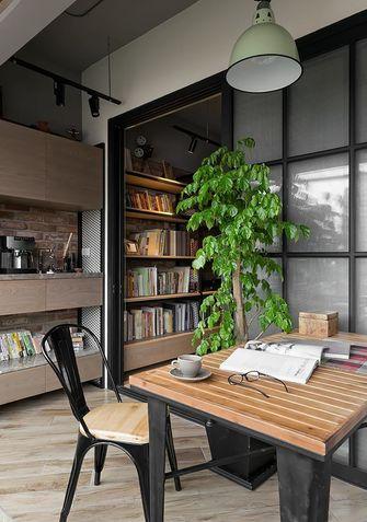 80平米混搭风格书房欣赏图