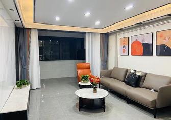90平米三室一厅其他风格客厅效果图