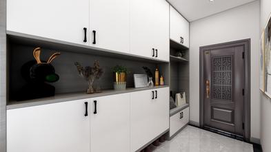 110平米三室两厅现代简约风格玄关图