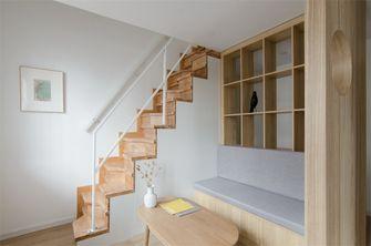 80平米日式风格楼梯间图