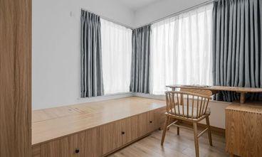 90平米三室一厅日式风格书房图片大全