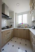 140平米四田园风格厨房装修案例