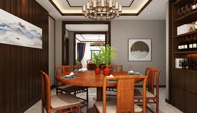 140平米三室一厅新古典风格餐厅装修案例